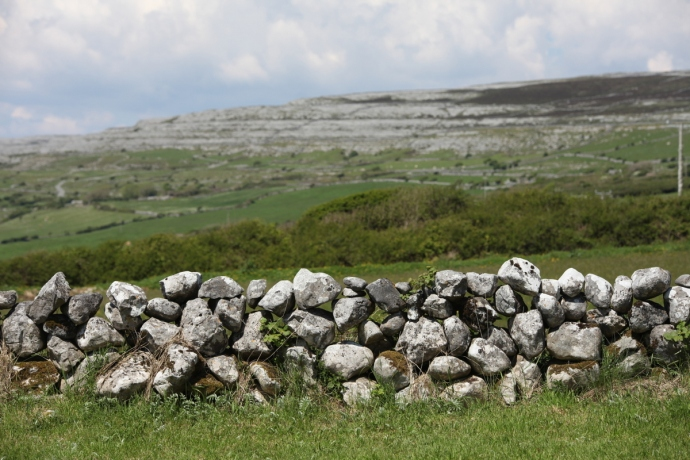 The Burren.  Looking towards Mullaghmore.