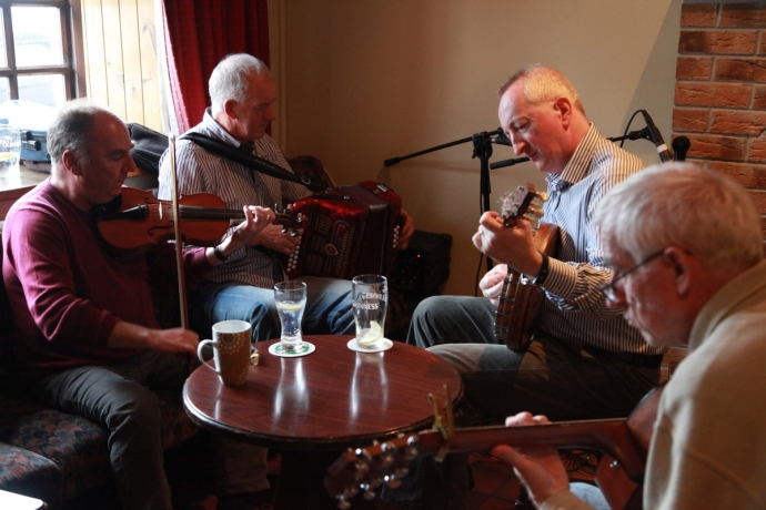 Tony Linanne and friends, Doonbeg