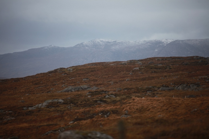 Distant snow, Connemara