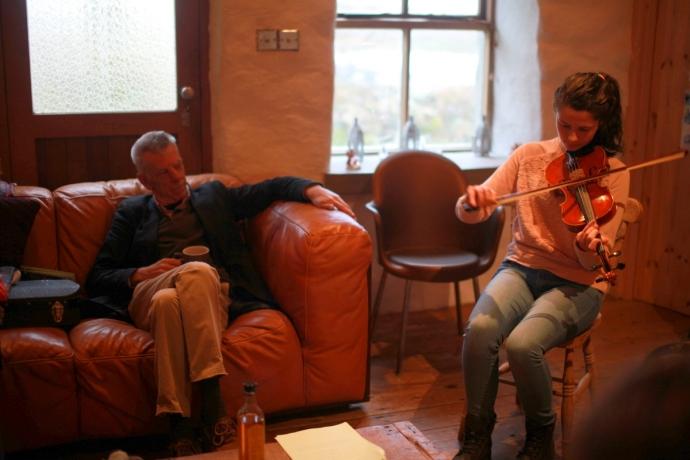 Maurice Lennon, Fiddle Master Class, Connemara