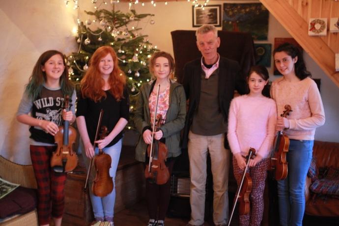 Maurice Lennon Fiddle  Master Class, Connemara
