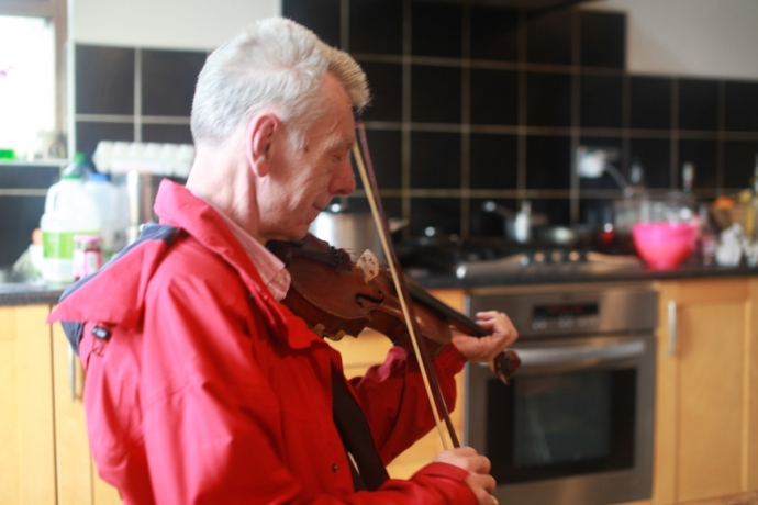 Maurice Lennon, Kitchen session at Bridge Barker's, Connemara