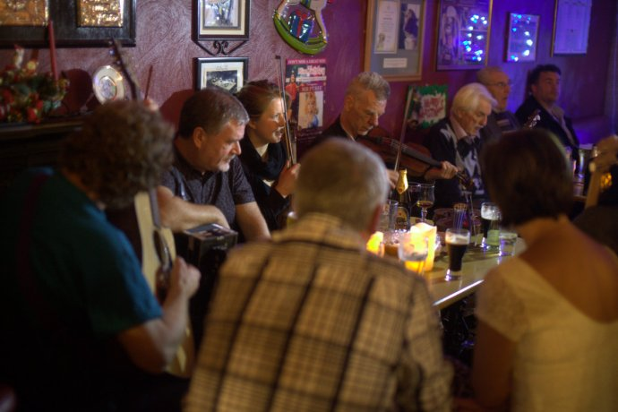 Session, Old Forge Pub, Galway