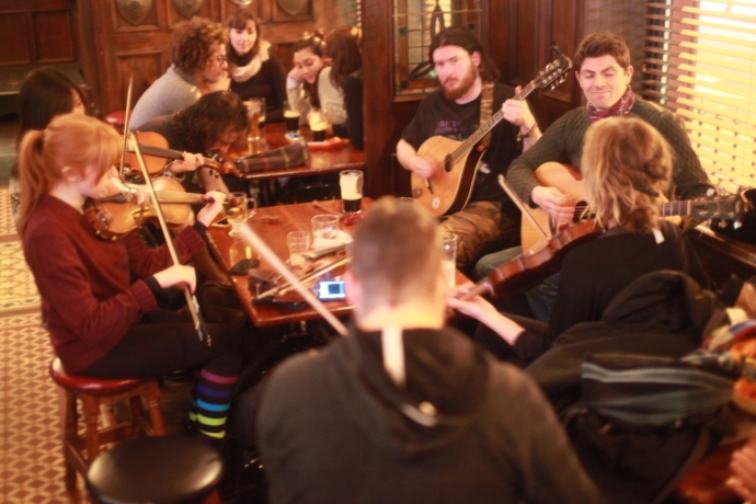 Session, Garvey's Pub Galway