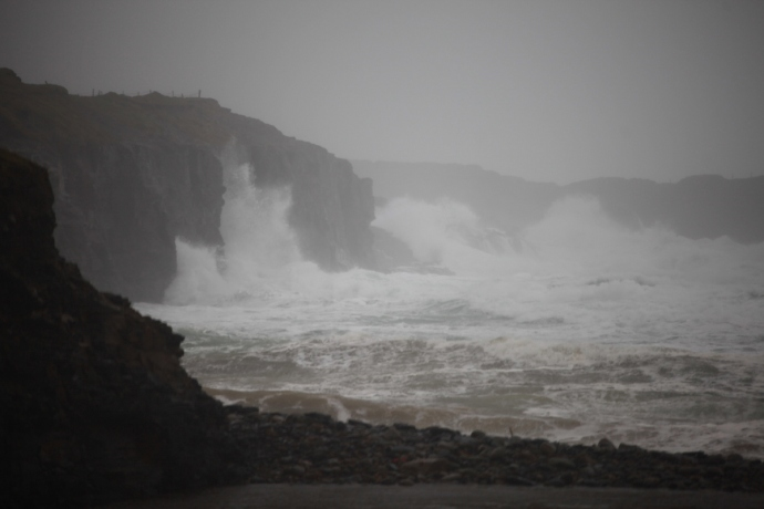 the wild Atlantic.  Spanish Point Co Clare