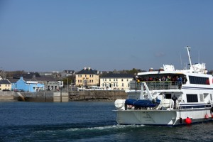Harbour at Kilronan.  Inis Mor