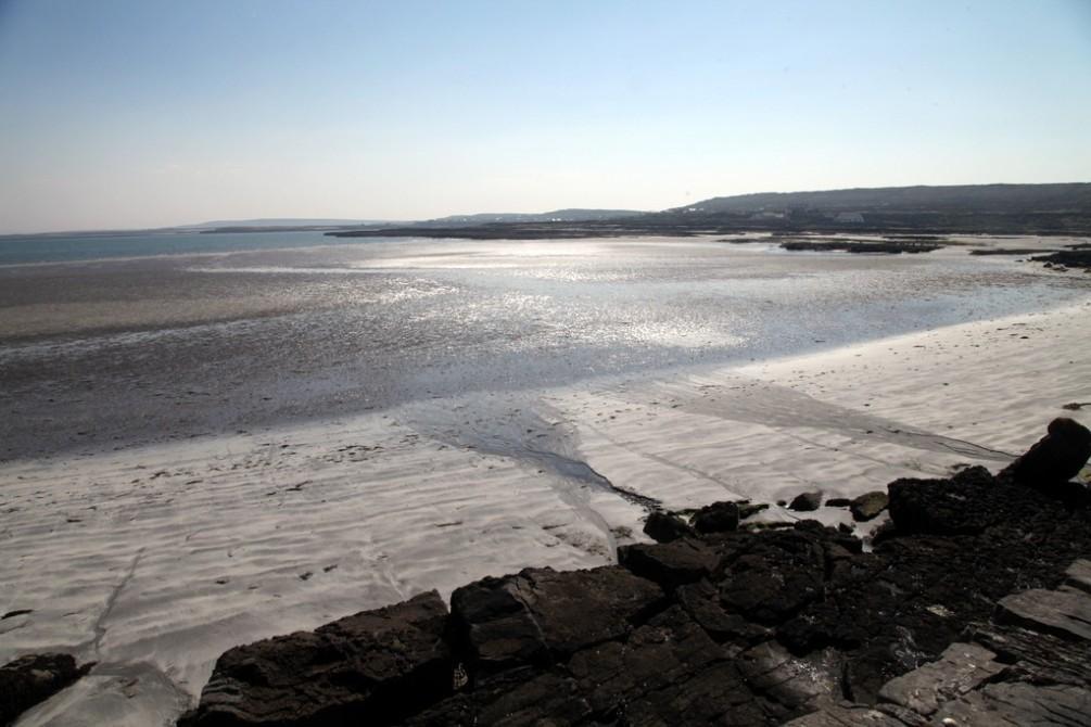 Beach near Kilronan.  Inis Mor