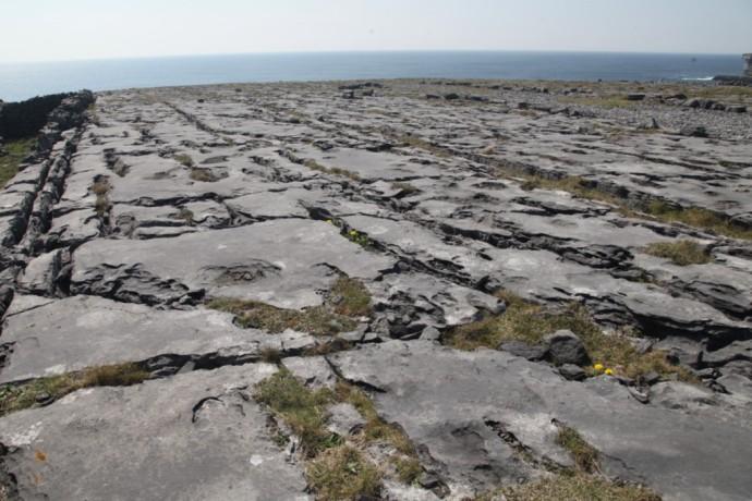 Inis Mor.  Burren landscape