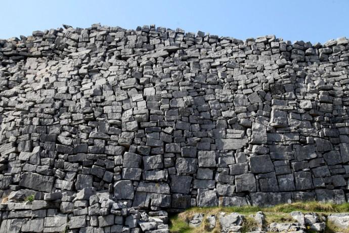 Inis Mor. Inner wall. Dun Aengus fort