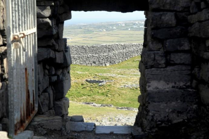 Inis Mor. Dun Aengus fort