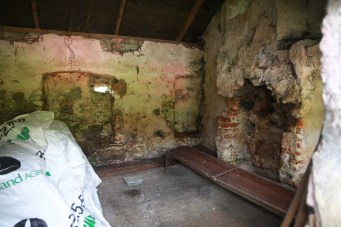 Workman's cottage interior