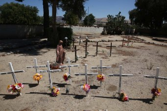 Cemetery at San Miguel Mission
