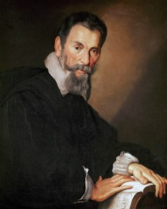 Original painting of Monteverdi by Bernardo Strozzi once hung in the Drawing Room