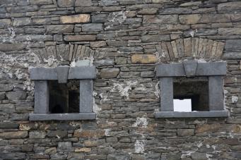 Elegant limestone detail on the window surrounds