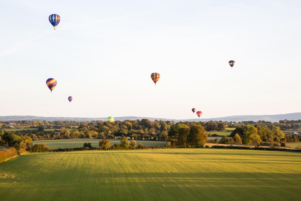 More than just Hot Air.  My First Balloon Flight.