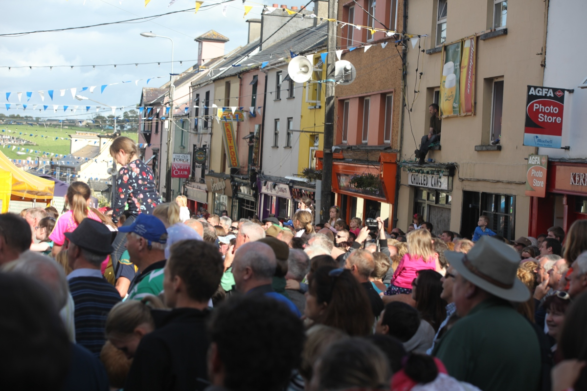 The Puck Fair, Co Kerry.  A 400-year old tradition.