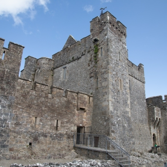 The Keep at Cahir Castle