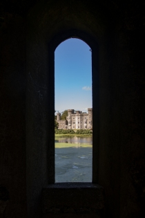 View through one of the lower windows of the tower