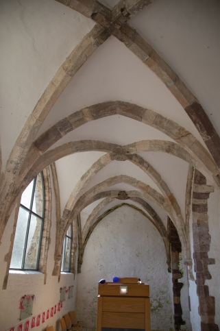 Vaulted ceiling of the Lady's Chapel